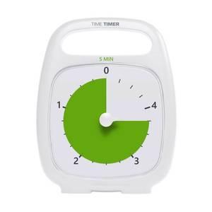 Bilde av Time Timer PLUS bordmodell - 5 min hvitt