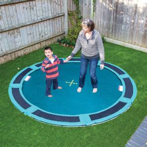 Bilde av Stor bakke trampoline