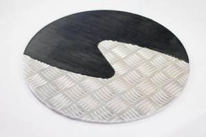 Bilde av Taktile sirkler svart og silver