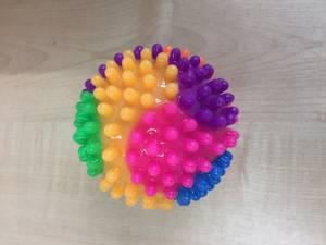 Bilde av Ball m sprett/lys 10 cm