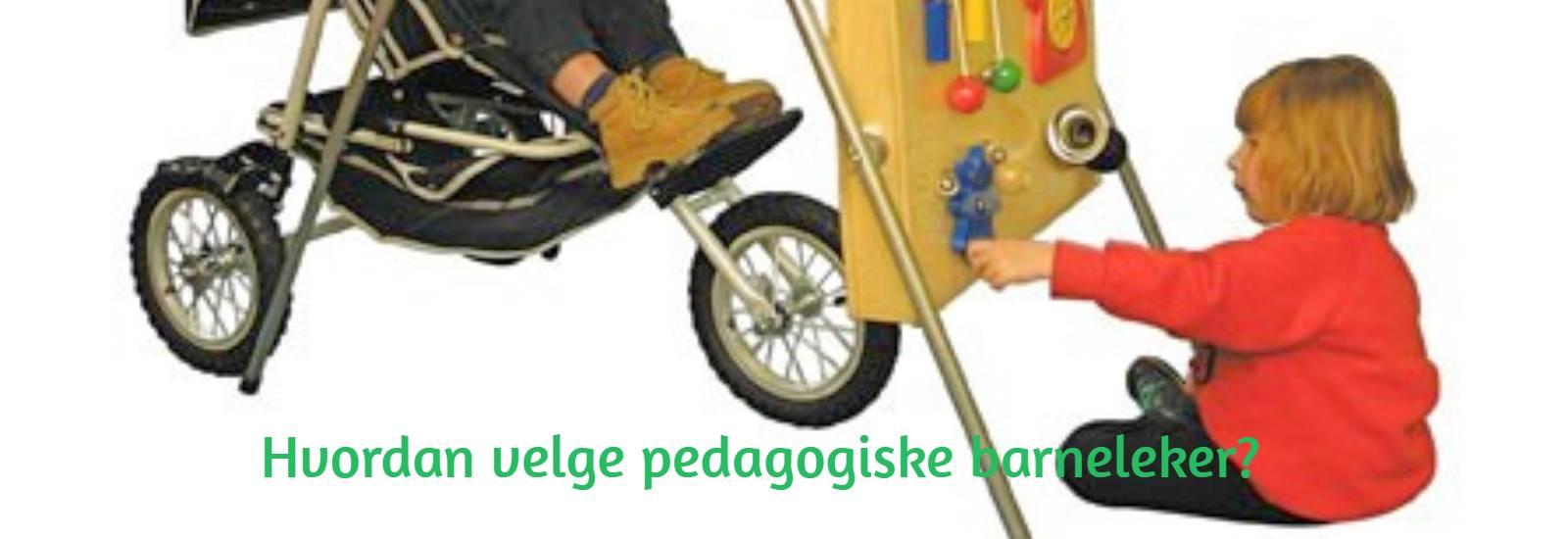 Hvordan velge pedagogiske barneleker?